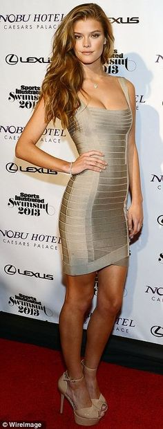 Beige dress.  I almost bought one just like it for my rehearsal dinner for wedding!