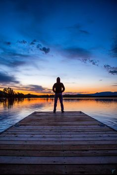 https://flic.kr/p/WpesN3   Waterton Sunrise   Self-portrait at sunrise in Waterton Lakes National Park.