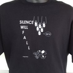 Doctor Who T-Shirt: Silence Will Fall