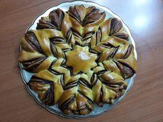 Fior pan brioches http://www.ricettario-bimby.it/ricetta/fiore-di-brioche-con-nutella/671059