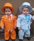 .....And these kids have no idea what they're dressed as.