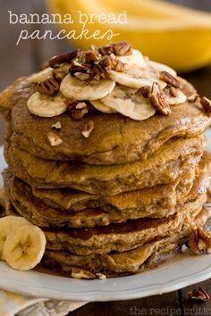 Banana Bread Pancakes | The Recipe Critic | #bananas #pancakes #breakfast