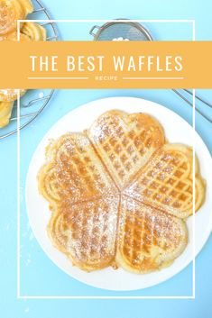 Waffles, waffles and more waffles! - Harassed but happy mommy blogger