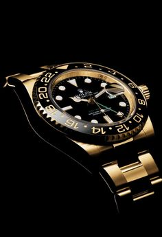 Why Rolex Watches Are The Most Reputable Consumer Products In The World According To Industry Study Dream Watches, Sport Watches, Cool Watches, Rolex Watches, Fitness Watches For Women, Gold Rolex, Rolex Gmt Master, Luxury Watches For Men, Beautiful Watches