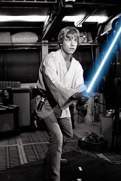 Mark Hamill as Luke Skywalker, in STAR WARS:  Episode IV