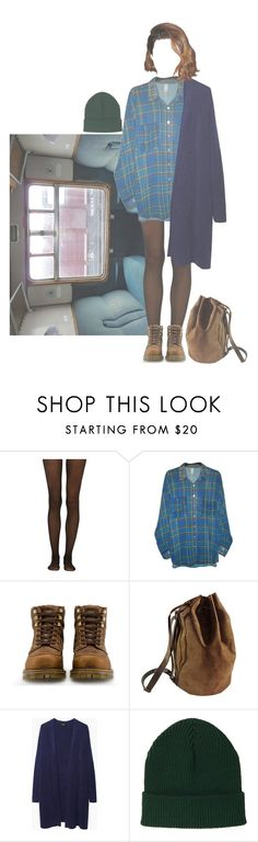 """""""All I want is everything but settling"""" by dianasauruas ❤ liked on Polyvore featuring Fogal, American Apparel, Dr. Martens, Kjøre Project, Zucca, Topshop, vintage and dianawouldwear"""