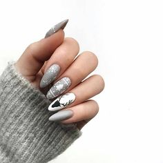 Festive nail art ideas for Christmas to Beautify the Moment – Page 5 – C. - Festive nail art ideas for Christmas to Beautify the Moment – Page 5 – Cocopipi Xmas Nails, Christmas Nails, Holiday Nails, Christmas Christmas, Christmas Themes, Nail Art Noel, Nail Tip Designs, Nail Design, Design Art