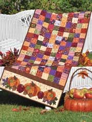 Bountiful Harvest Table Runner Pattern from www.AnniesCatalog.com. $9.49 -- Order here: http://www.anniescatalog.com/detail.html?prod_id=101247