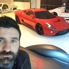 Ats automobili showroom in Borgomanero, Italy
