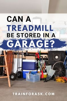 Can A Treadmill Be Stored in a Garage?It can be difficult to find an adequate spot to put your treadmill inside your house due to a multitude of reasons. This leads people to default to where they put most other things that don't fit inside the house; a garage or a shed. Jogging For Beginners, Running Plan, Running For Beginners, Running Tips, Garage Door Insulation Kit, Clean Garage, Folding Treadmill, Runner Problems