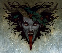 I Krampus, Lord of Yule, son of Hel, bloodline of the great Loki,