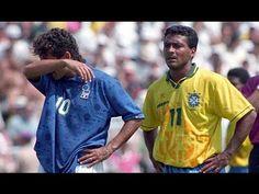 2173a83513 A análise às estrelas Roberto Baggio e Romário e aos treinadores Arrigo  Sacchi e Carlos Alberto Parreira