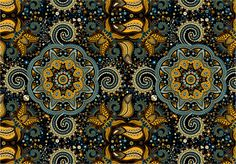 Seamless ethnic pattern by Sunny_Lion on Creative Market