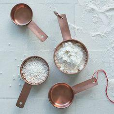 Copper Measuring Cups #WestElm