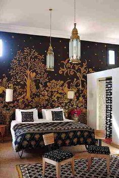 Bedroom, so pretty!