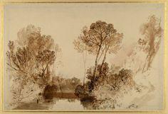 Joseph Mallord William Turner, Study of trees, ca. 1810/15