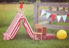 Tent  Photography Prop Circus Tent by BearCoveBoutique on Etsy, $129.50