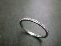 Diamond Eternity Ring #DiamondEternityRings