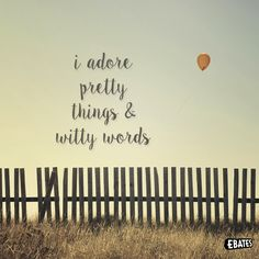 I adore pretty things & witty words #katespade