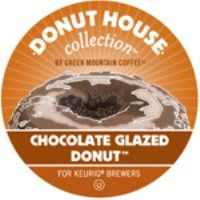 Donut House Chocolate Glazed Donut K-Cups  24 K-Cups/Box  Light Roast Chocolate Glazed Donut is a combo that`s hard to resist. A fresh chocolate donut, topped with a sweet, sugar glaze, dunked into your mug. All coffee, no crumbs.  $13.75 http://www.tikihutcoffee.com/detail.asp?id=XKCG #coffee #kcups