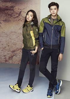 Lee Jong Suk and Park Shin Hye - Millet S/S 2015