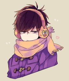 Find images and videos about anime, osomatsu san and ichimatsu on We Heart It - the app to get lost in what you love. Manga Boy, Manga Anime, Anime Art, Hot Anime Guys, Cute Anime Boy, Anime Boys, Character Art, Character Design, Ichimatsu