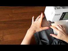 Урок 8 Как идеально ровно вшить потайную застёжку молнию - YouTube