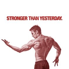 Stronger Than Yesterday Decal Wall Stickers, Wall Decals, Stronger Than Yesterday, Gym Decor, Second Skin, Colorful Backgrounds, The Cure, At Least, Surface