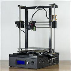 DMS DP5 200*200*270 Auto nivelación 3D Impresora, 10 minutos de instalar, 24 V fuente de alimentación, metal remoto extrusora de alimentación, 200 W cama caliente, base de metal