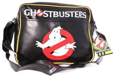 a131729d58 Ghostbusters Classic Logo Messenger Bag (Black) by CODI