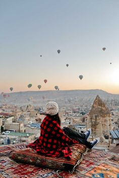 View from the Sultan Cave Suites Cappadocia Turkey - a wonderful hotel to stay at! // localadventurer.com