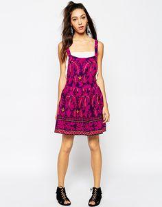 Image 4 - Mochi - Robe chasuble à broderies de couleur vive