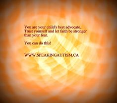 Autism - Best advocate for your child
