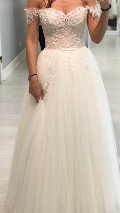 Suknie - Przepiękna suknia ślubna NABLA 34/36 - 2 800,00zł