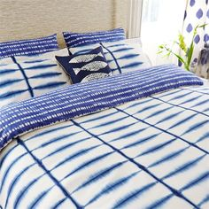 Scion - Designer Fabric and Wallpapers   Home Accessories - Scion has a wide range of rugs, towels, bedlinen and home fragrances   Shibori Bedlinen