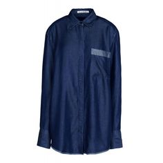 Acne Studios Dark Wash Denim Shirt