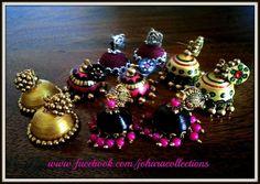 Jhumka - Quilled jewellery