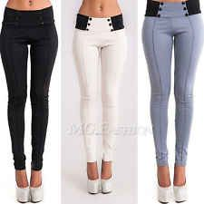 New Womens Fashion Slim Low-waist Sexy Pencil Pants Feet Bodycon Leggings