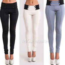 New Womens Fashion Slim Low-waist Sexy Pencil Pants Feet Bodycon Leggings