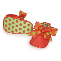 Christmas crib shoes