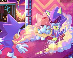 Sonic The Hedgehog, Silver The Hedgehog, Amy Rose, Sonic Mania, Sonic Franchise, Sonic And Amy, Sonic Fan Characters, Sonic Fan Art, Hedgehogs