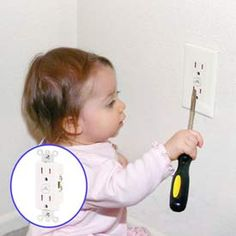 Home Safety | ... shocks or worse. Cover unused outlets with child safety outlet covers