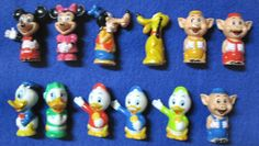 Disneyland Playmates Train Set Replacement Characters Complete Set Of 12 #Disney