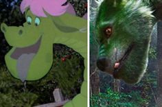"Here's Our First Look At The New Dragon In ""Pete's Dragon"""