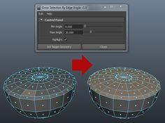 This tool will grow polygon selection based on