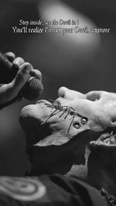 Slipknot - The Devil In I lyrics Slipknot Quotes, Slipknot Lyrics, Slipknot Band, Me Too Lyrics, Music Lyrics, Metal Bands, Rock Bands, Metal Music Quotes, Hardcore Music