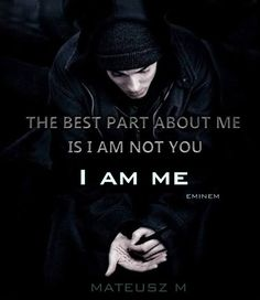 Quotes are a powerful motivational tool, and probably the best way to inspire others. Here are the top 100 motivational images for Eminem Lyrics, Eminem Quotes, Rapper Quotes, Lyric Quotes, Qoutes, Chill Quotes, Mood Quotes, Life Quotes, Hero Quotes