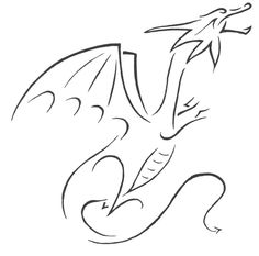Tribal Dragon, Stéphane Magnier, SciFi Fantasy Art