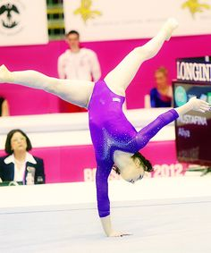 """""""There comes a gymnast from Russia with the name of Mustafina who is so complete, and so good at all four events, and being so much different.""""  — Nadia Comaneci"""
