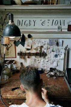 Aaron Ruff's Brooklyn studio - Vogue Australia